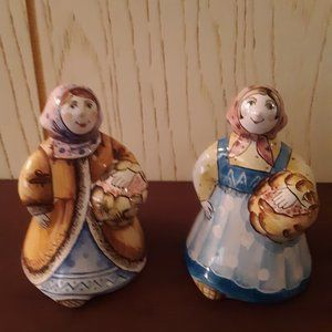 Russian Doll TerraCotta Bells - Selling Pair